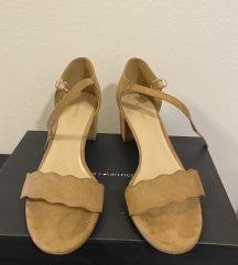 Deichmann sandale, br. 39, nošene par puta
