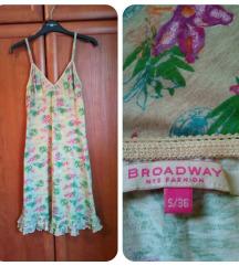 BROADWAY NYC cvjetna haljina