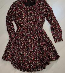 H&M asimetrična haljina vel. 36