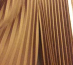 Plisirane suknja hlače 38