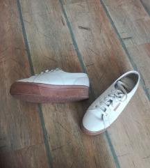 Superga bijele kožne tenisice