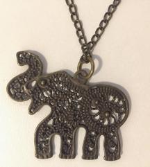 elephant lančić iz Ornamenta