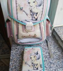 Gorjus školska anatomska torba i pernica