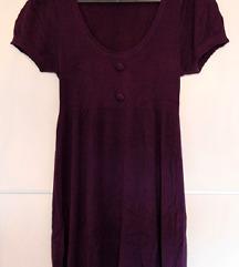 Snizenje tamno ljubičasta haljina/tunika!!!