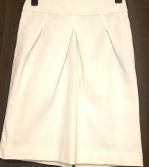 Zara bijela pamučna suknja. S/M
