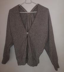 Džemper sa dvostrani patentom