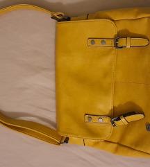 Žuta torba nenošena