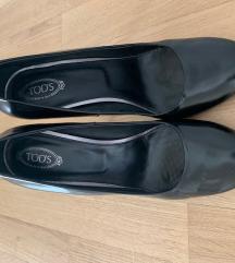 TOD's crne cipele na visoku petu