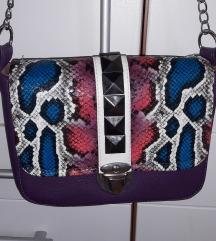 Lovely bag ljubicasta torbica