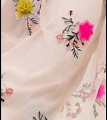 Oasis, haljina sa tilom i aplikacijama