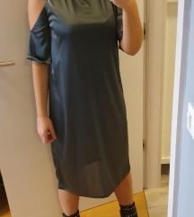 Zara antracit siva haljina s etiketom