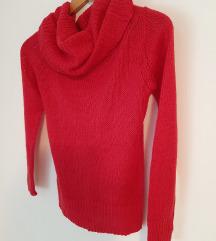 Crvena (roza) VESTA pulover džemper