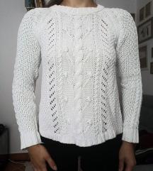 Topshop pleteni pulover