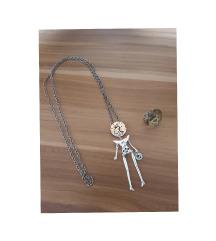 LKM steampunk ogrlica i prsten (pt gratis)
