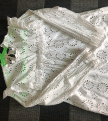Zara embroidered bluza M