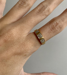 Zlatni prsten 750