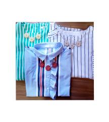 AKCIJA: LOT Mango košulje i ogrlice (pt gratis)