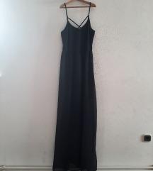 duga haljina sa prorezima