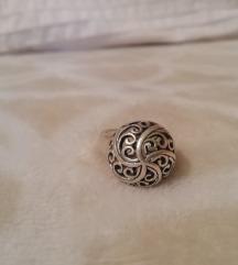 srebro 925 prsten