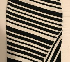 Asimetrična suknja na pruge