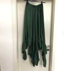 Asimetrična suknja, M-L