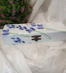 Kutija sa motivom lavande