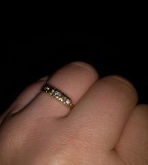 Prsten zlato 595