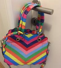 Moderna torba duginih boja