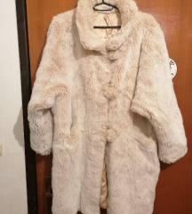 Krem bijela bunda