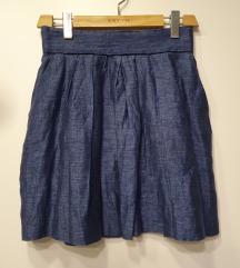 ZARA suknja visoki struk, vel 36