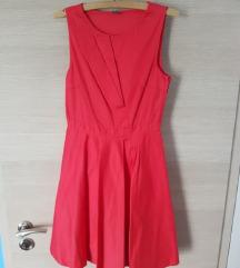 Naf Naf crvena skater haljina