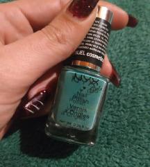 Nyx zeleni lak za nokte