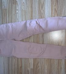 Rozo-bež hlače