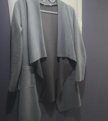 Asimetrična kožna jaknica XL