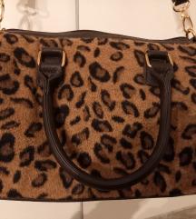 Leopard zimska torba & grijaci za usi 🤎