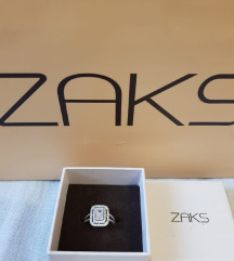 Novi ZAKS prsten srebro 50%%%