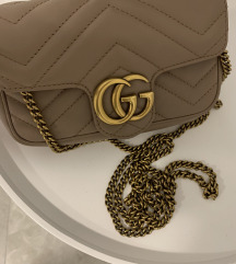 Original Gucci super mini torba
