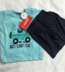 Majica i kratke hlačice NOVO