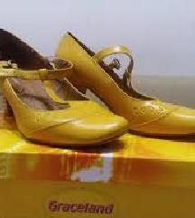 Ženske žute cipele