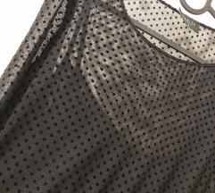 Mohito prozirna crna haljina