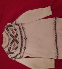 Pulover pleteni za curice