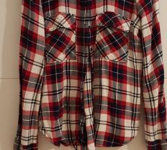 Zara karirana košulja XS