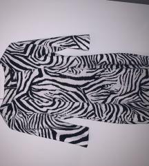 Zebra print haljina