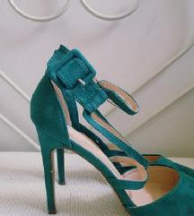 🖤 Zelene sandale 40