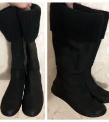 DKNY - 38 - koznate crne cizme