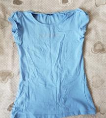 Kratka plava majica S