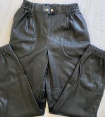 Bershka kožne hlače