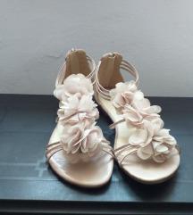Sandale ljetne na cvijetiće 39