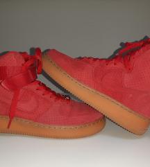 Nike AF1, crvene, 1 nošene kao nove!