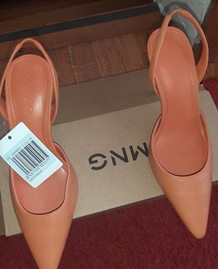 NOVE  Ženske kožne sandale Mango